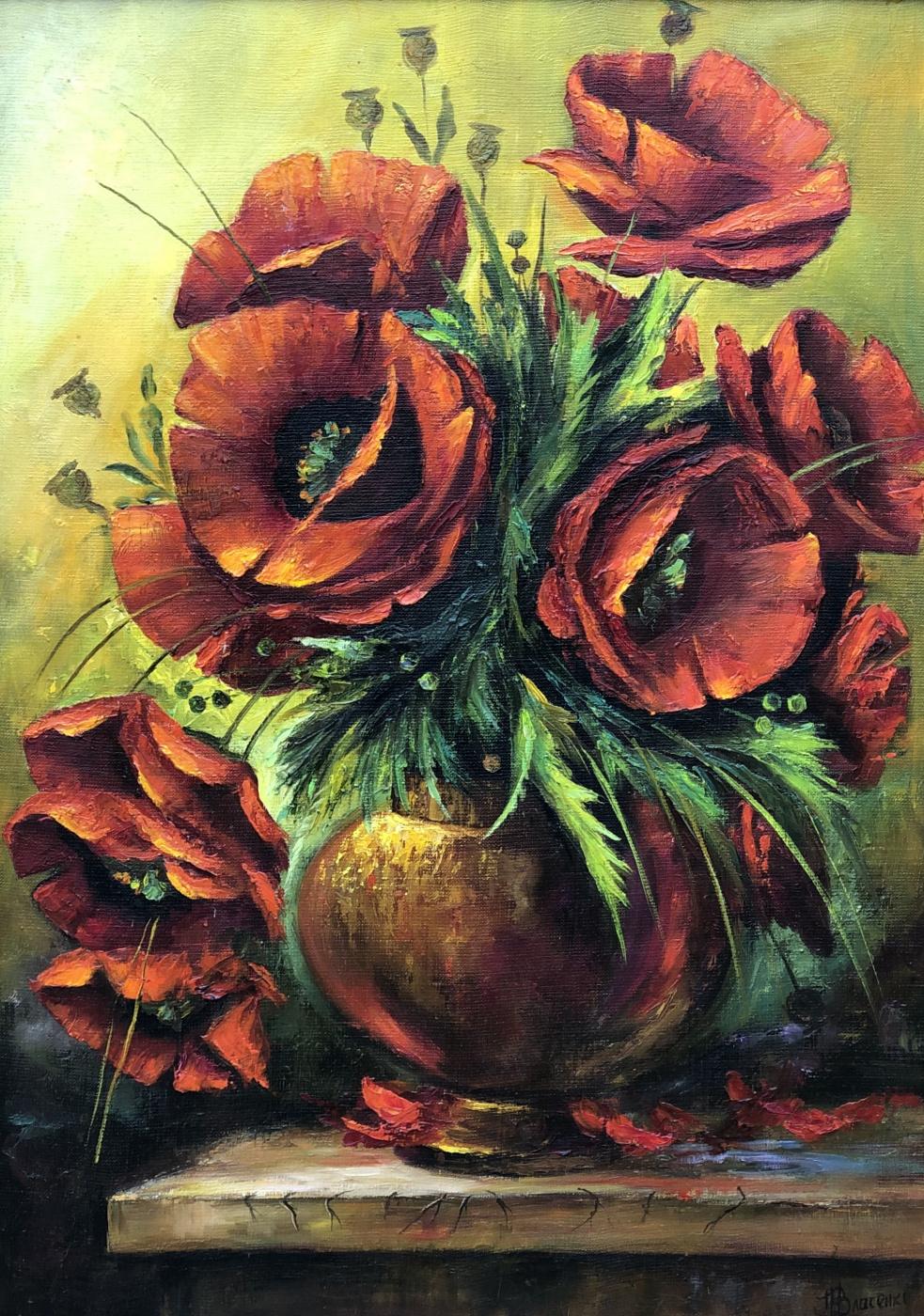 Nazar Andreevich Ostapov. Poppies