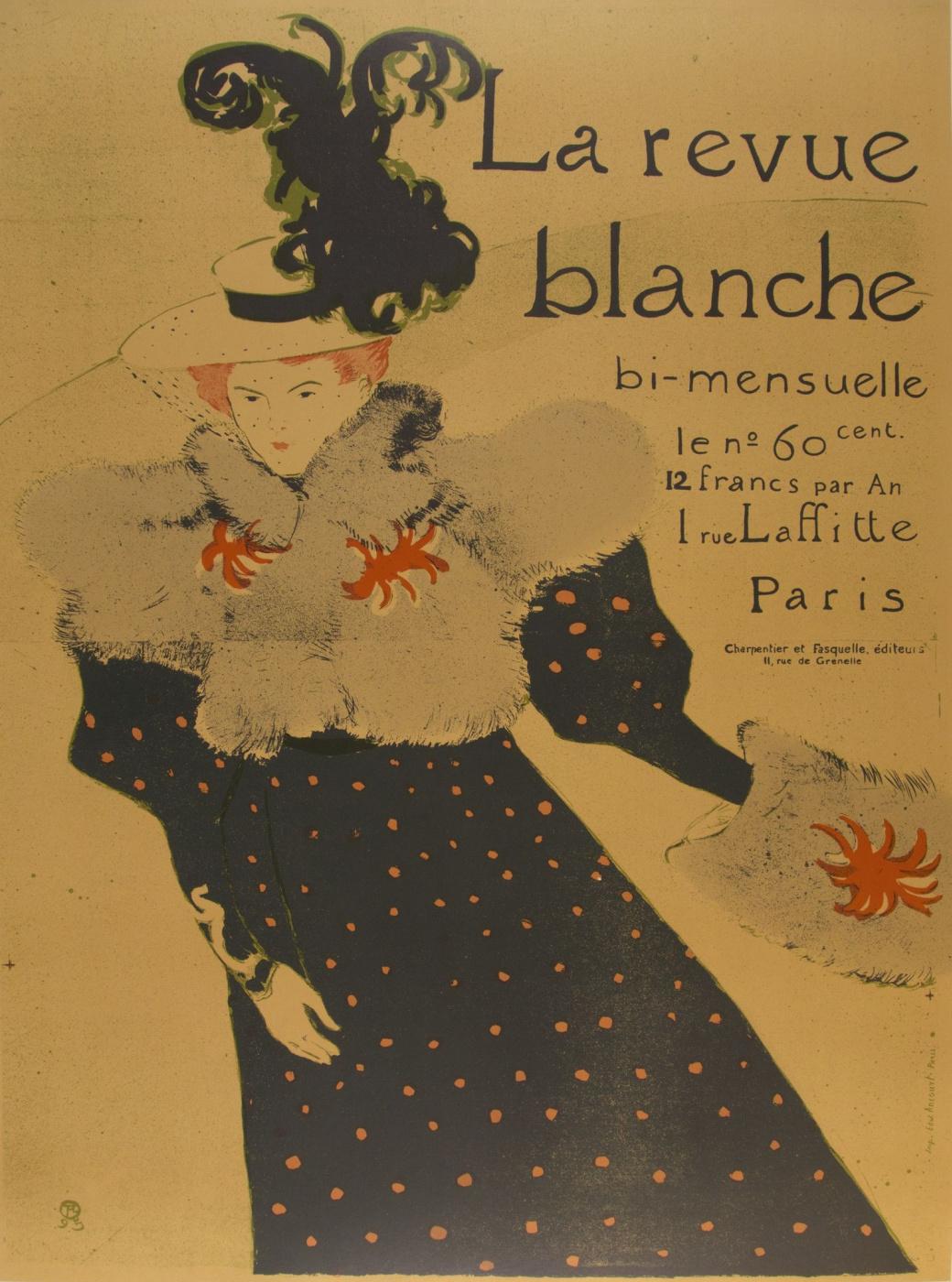 Henri de Toulouse-Lautrec. La Revue Blanche