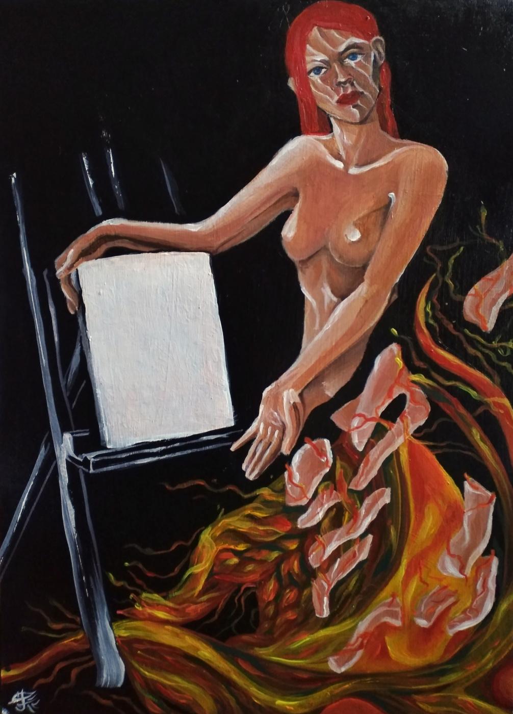 Christina Kovalchuk. Catalyst: Portrait of a Girl on Fire
