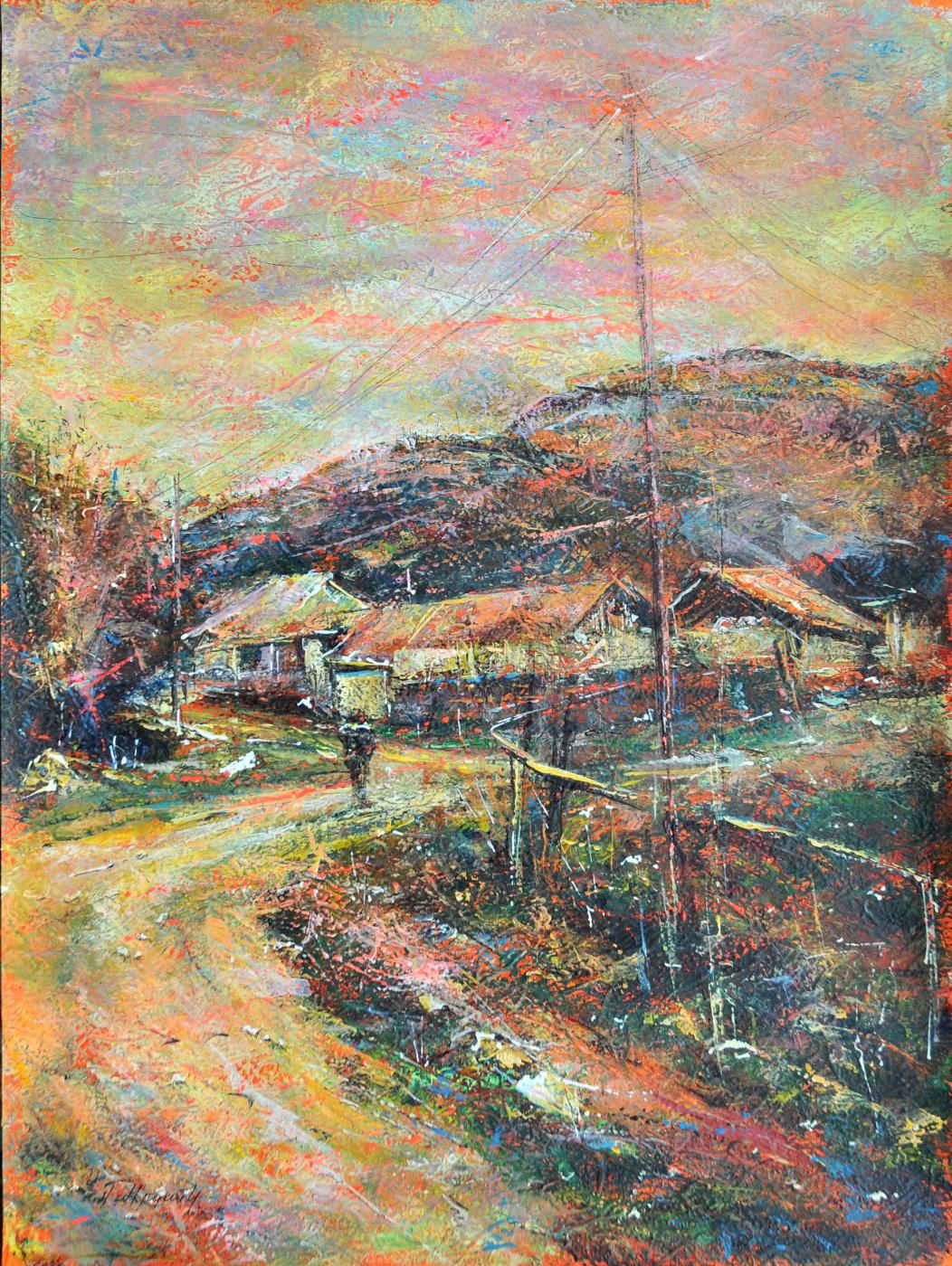 Artak Haykazovich Mkrtchyan. Village