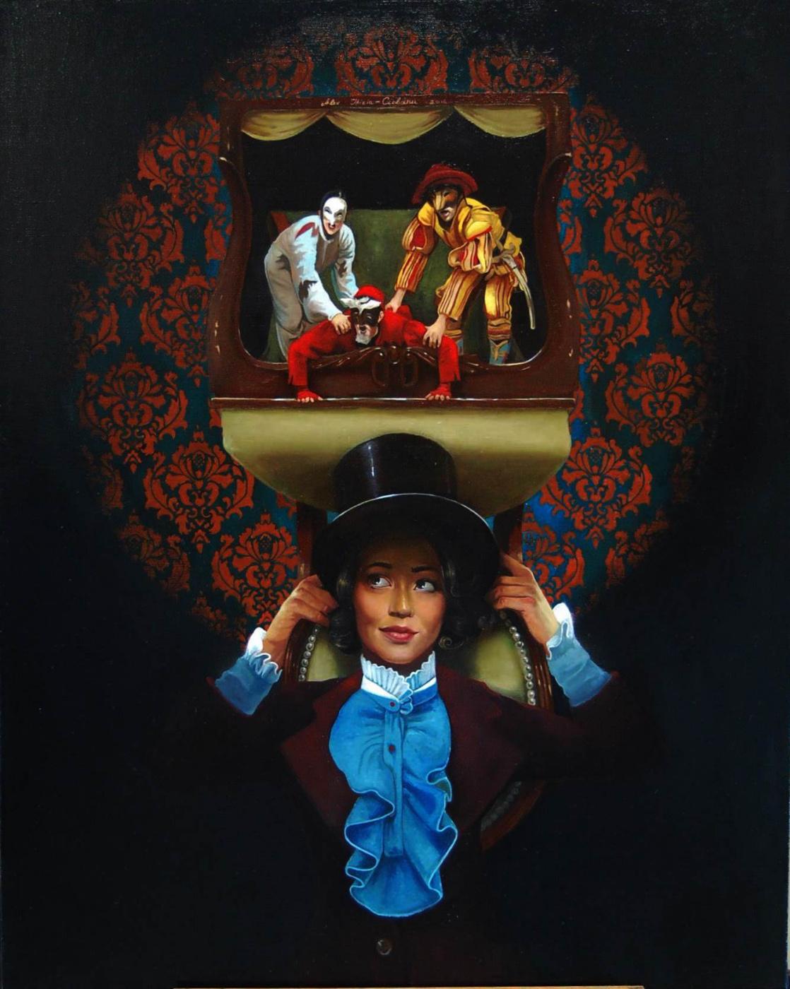 Alexander Giza-Ciobanu. In the light of the spotlight
