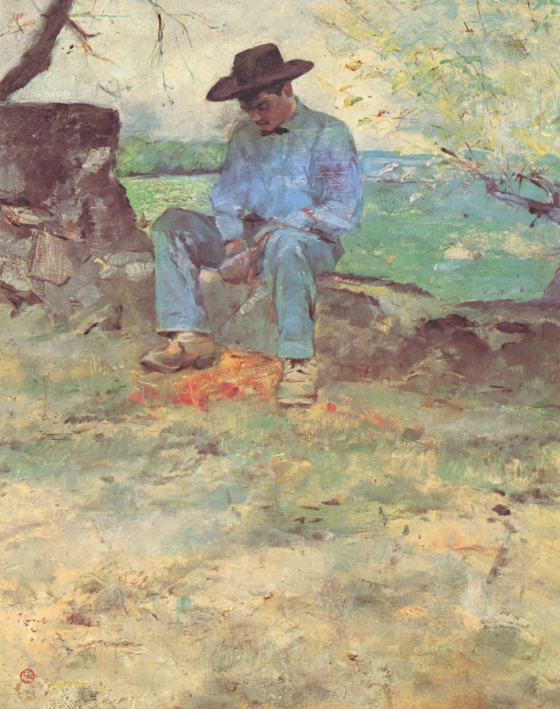 Henri de Toulouse-Lautrec. Young Roti Celerain