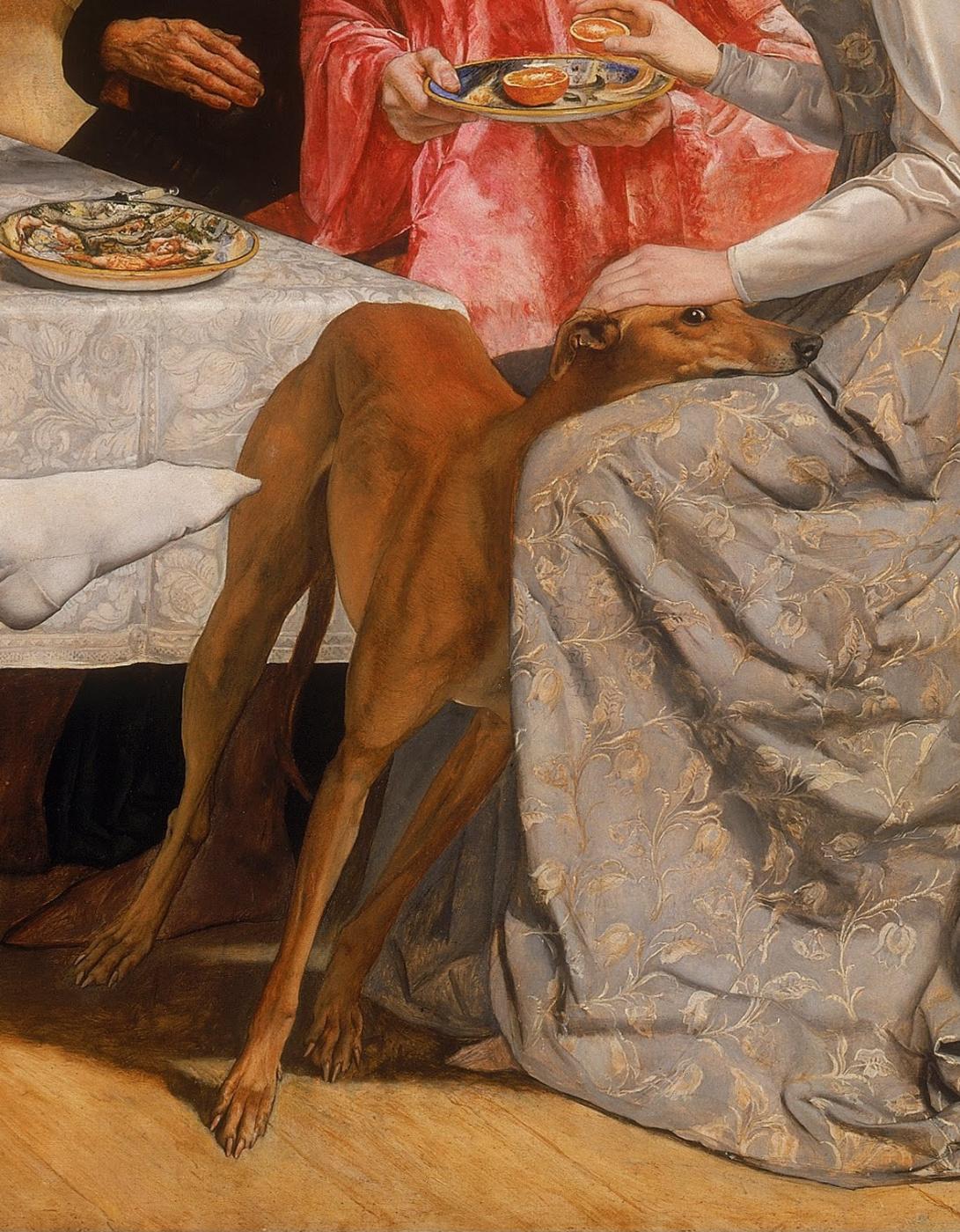 John Everett Millais. Lorenzo and Isabella. Fragment II