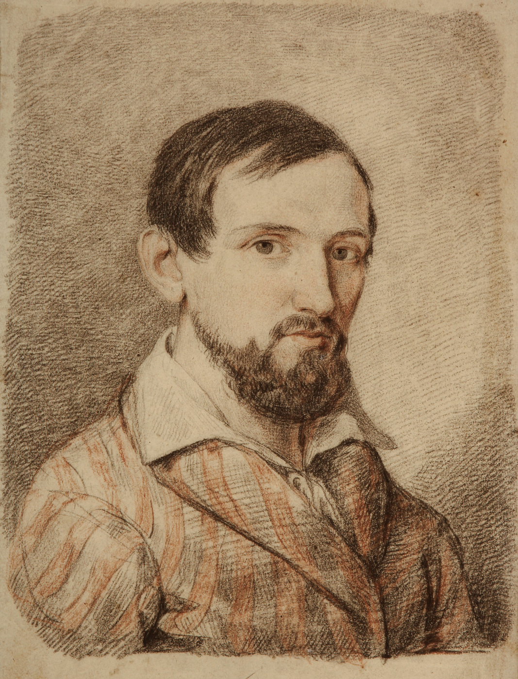 Valentine Mel'chiorovich Vankovich. Self portrait. 1842