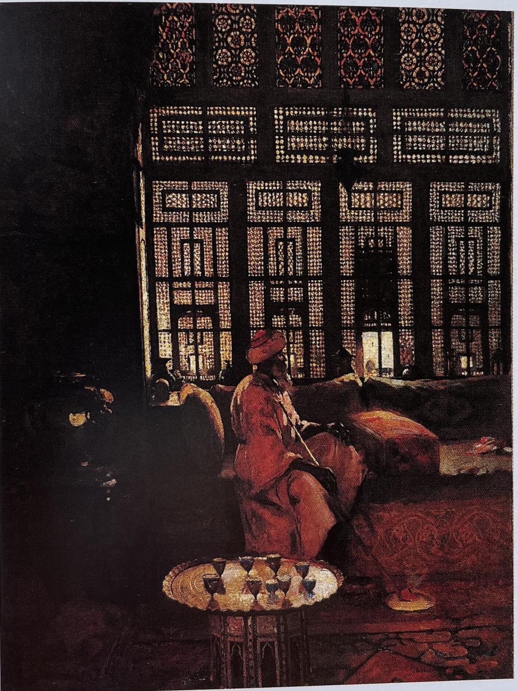 Arthur Melville. An Arab interior