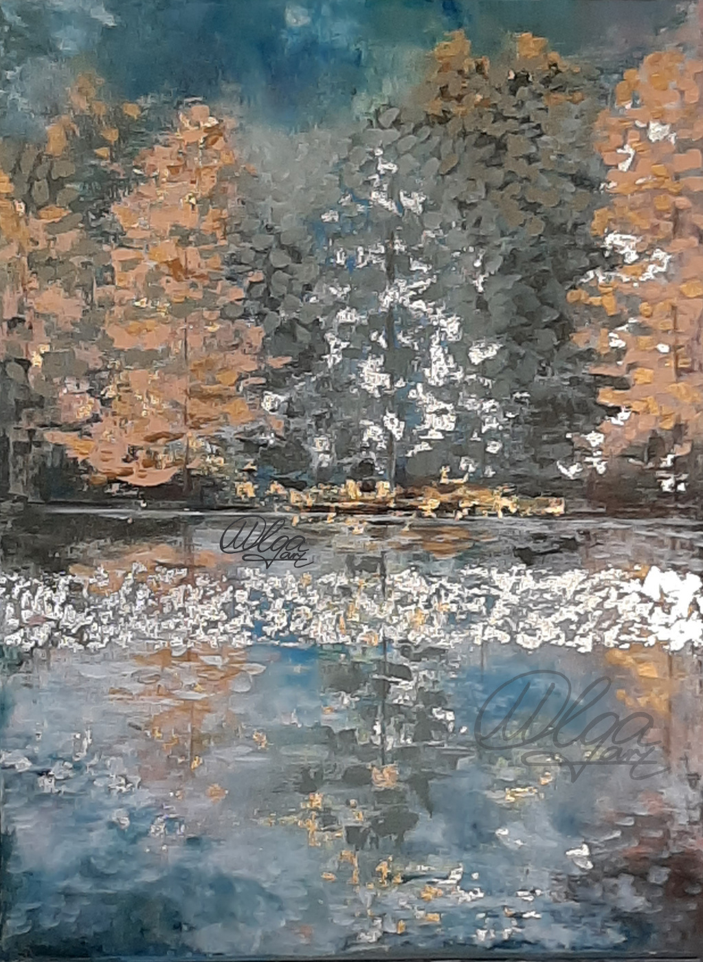 Olga Vladimirovna Makarova. Autumn landscape