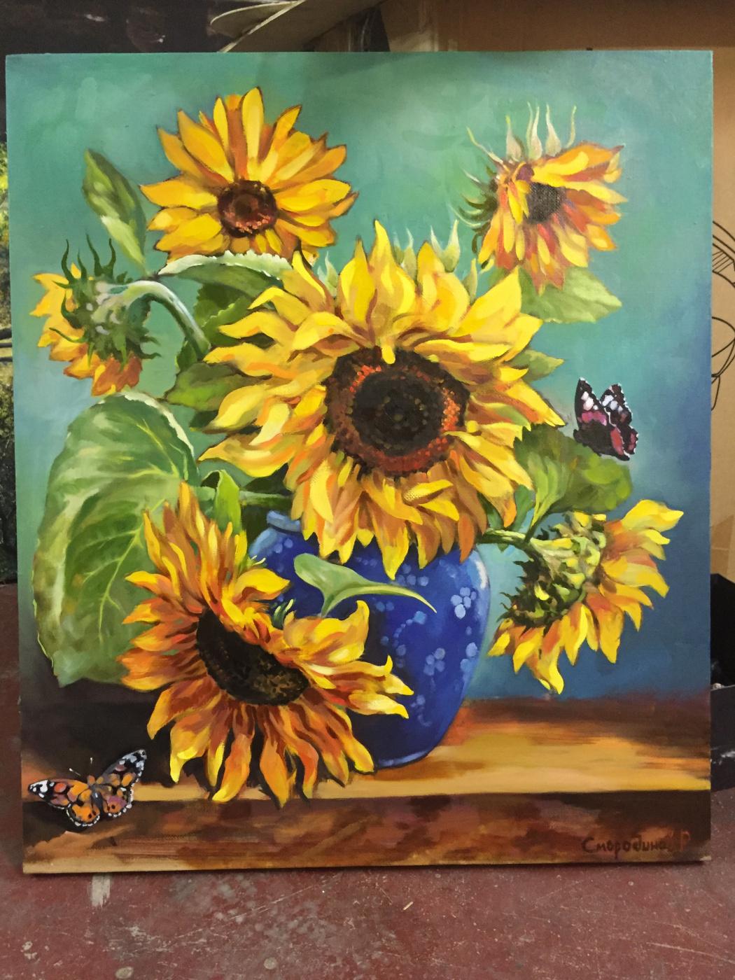 Ruslan Malina. Sunflowers