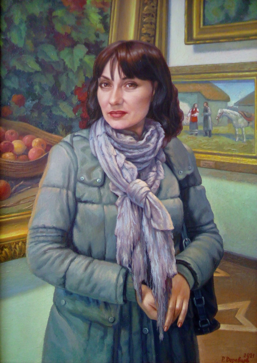 """Ruslan Vasilievich Derevtsov. """"In the Sumy Art Museum"""""""
