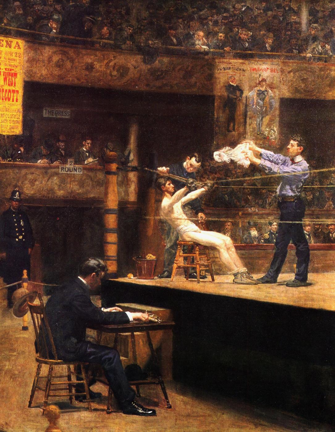 Thomas Eakins. Between rounds