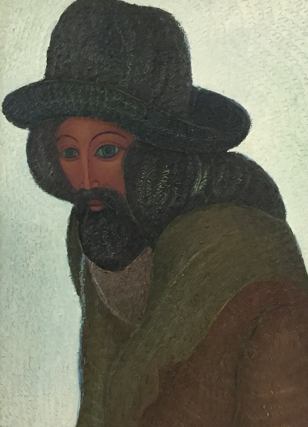 Rostislav Nikolaevich Ivanov. Self-portrait