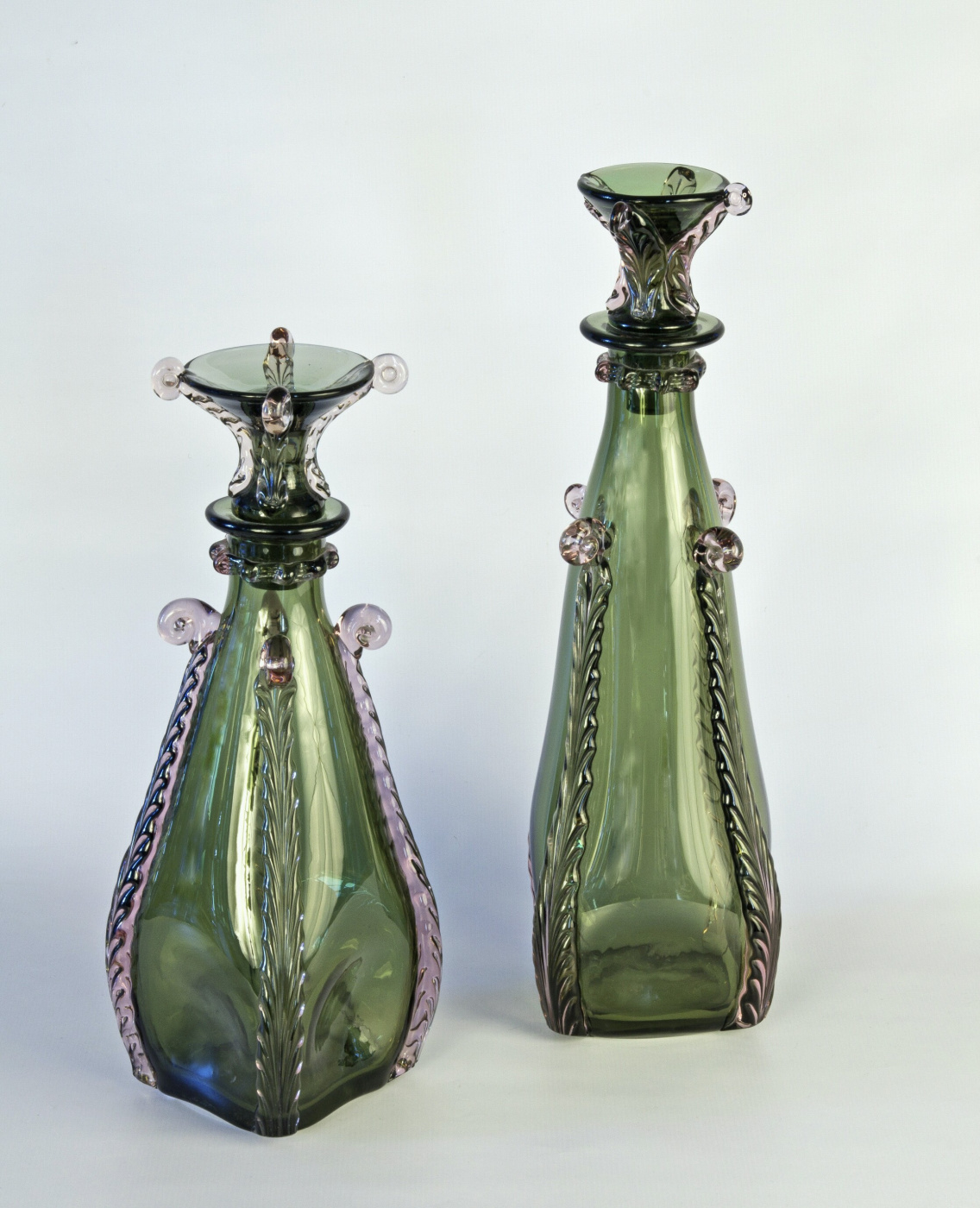 "Lidia Mefodievna Mityaeva (Pakhareva). Decorative set of ""Karpaty"""