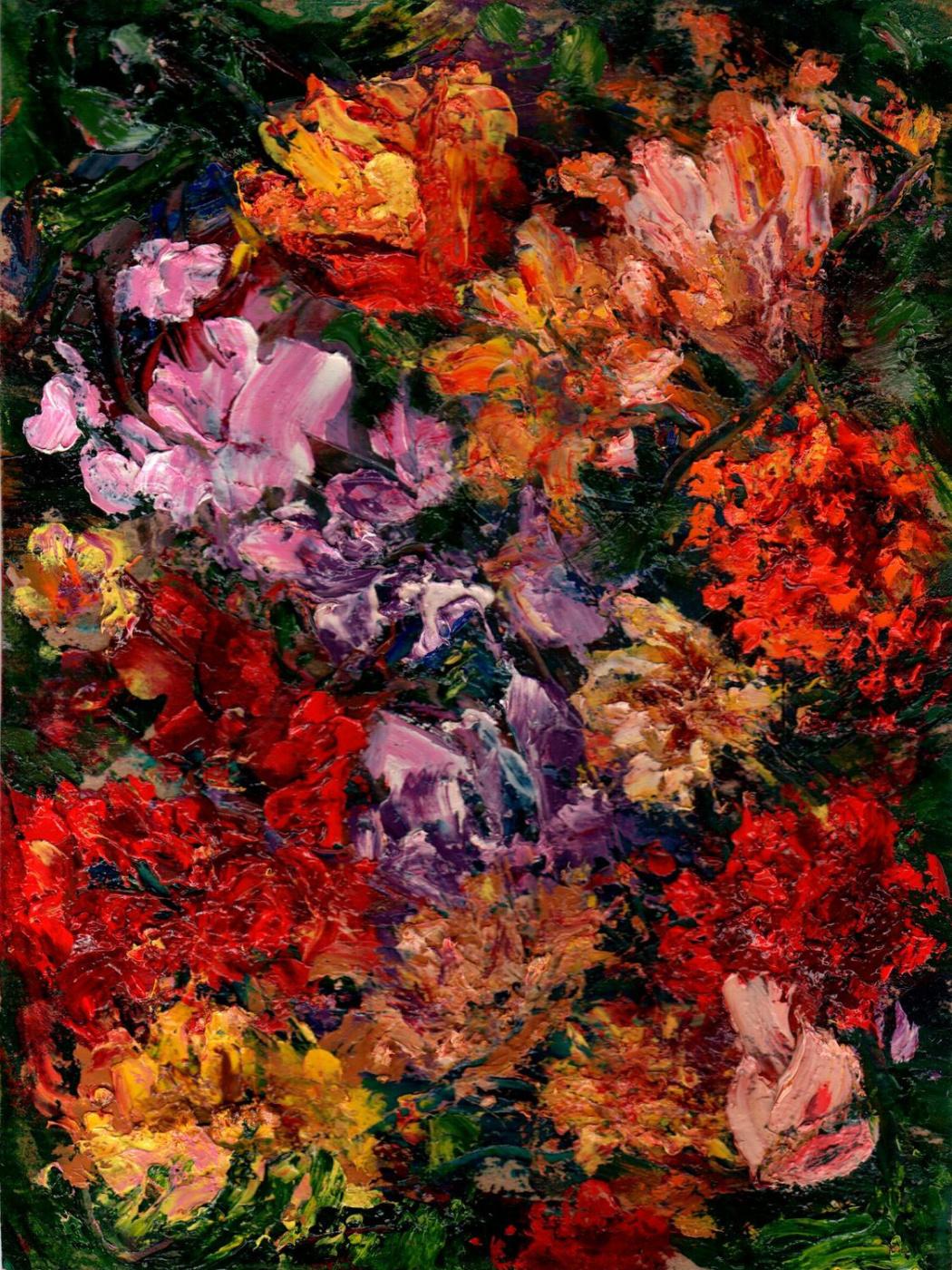 Vladimir Vasilyevich Abaimov. Flowers Tutti-Frutti
