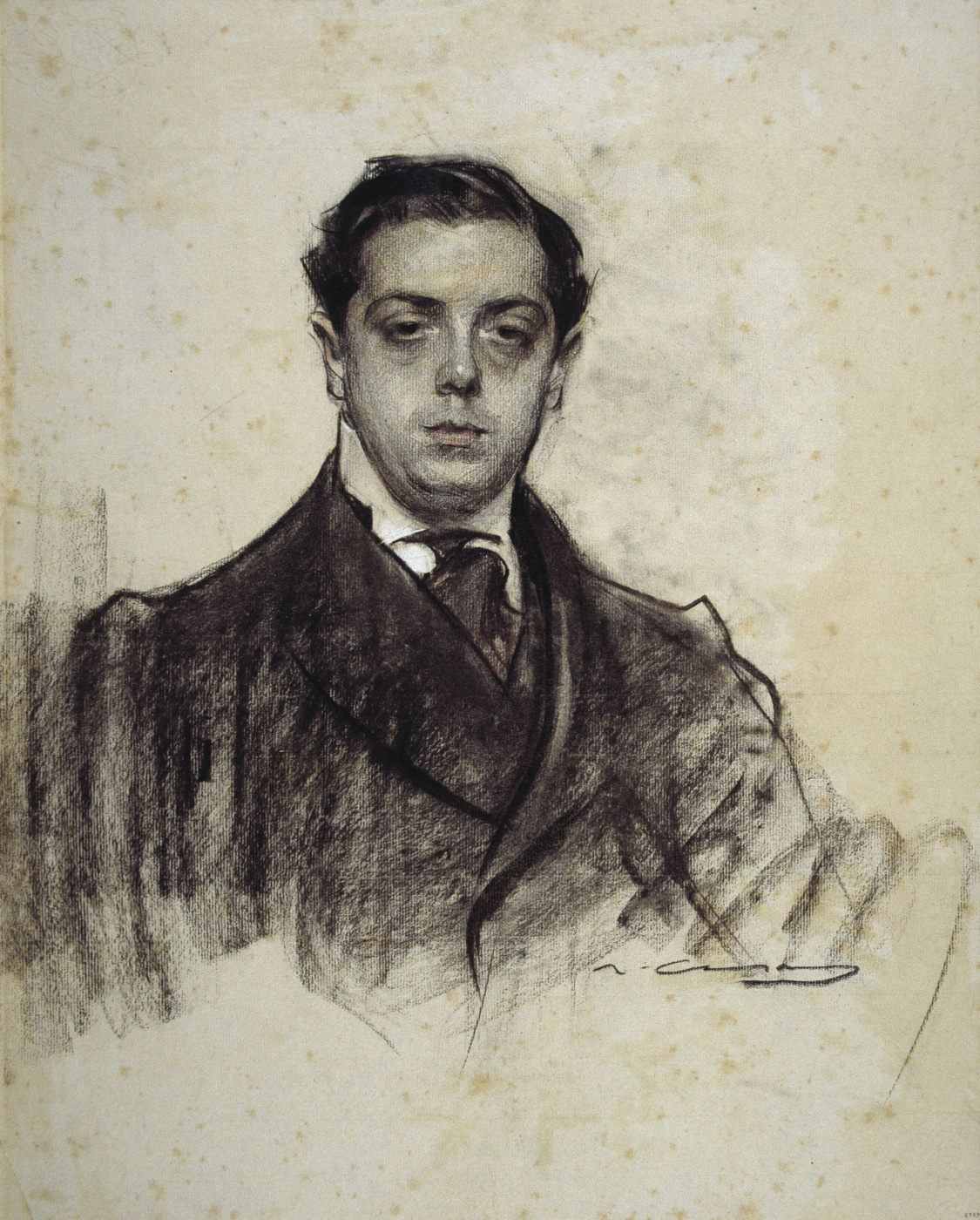 Ramon Casas i Carbó. Portrait of Joaquim Salvatella