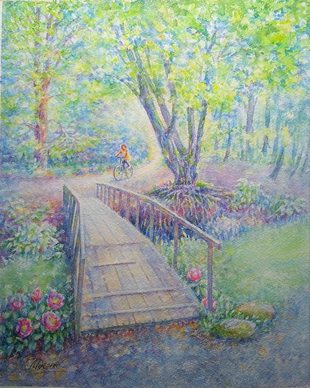 """Mielena. """"The path to the spring"""""""