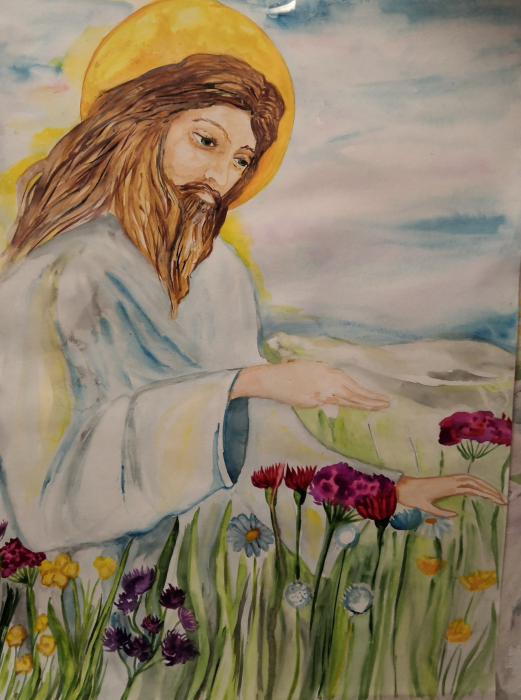 "Danara Kuzbolovna Rekhlova. ""Jesus Christ"""