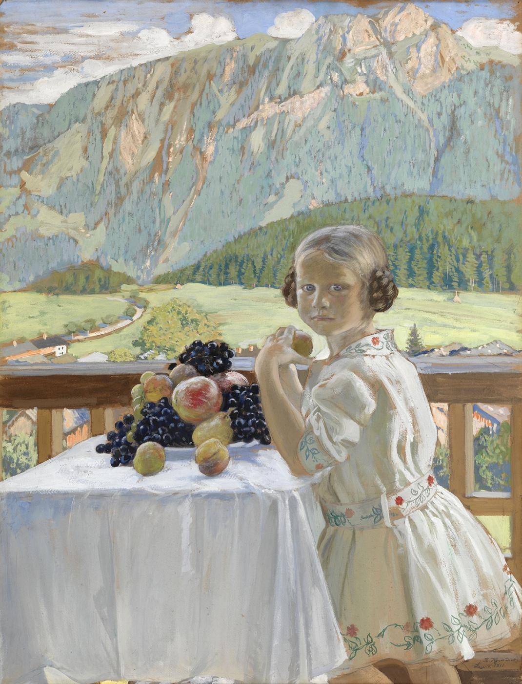 Boris Kustodiev. Irina Kustodiyeva