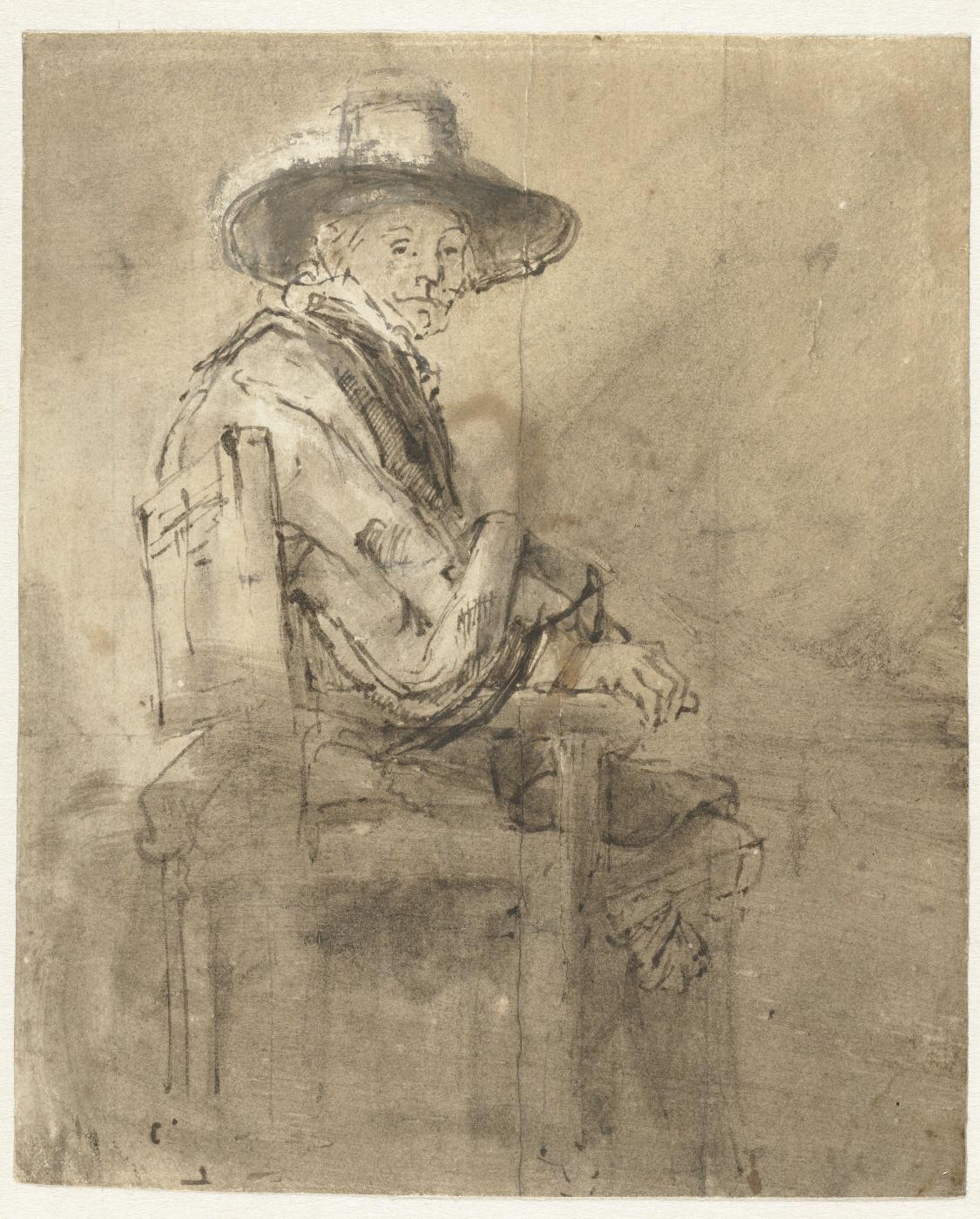 Rembrandt Harmenszoon van Rijn. Seated Syndic: Jacob van Loon