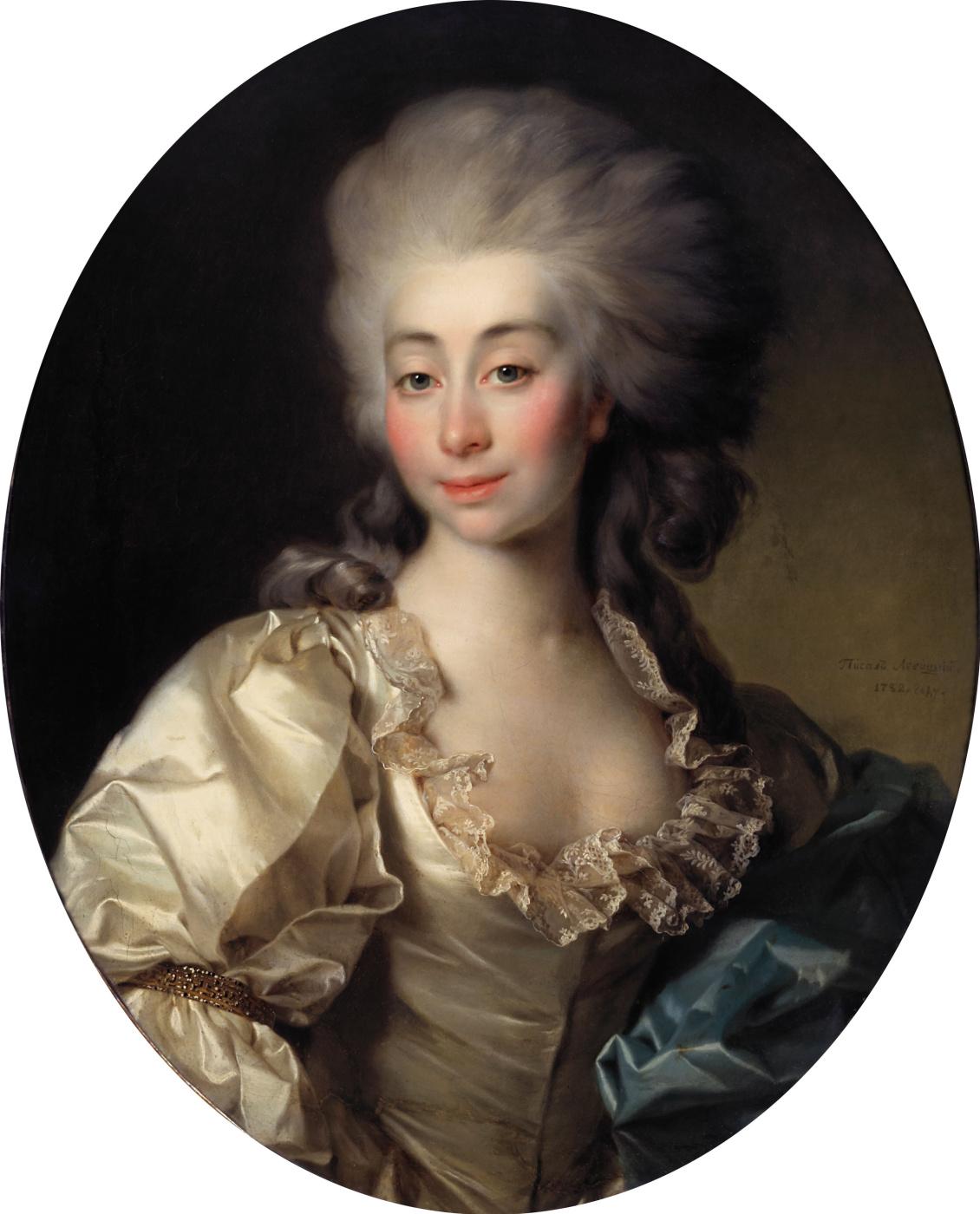 Dmitry Grigorievich Levitsky. Portrait of Countess Ursula Mniszek