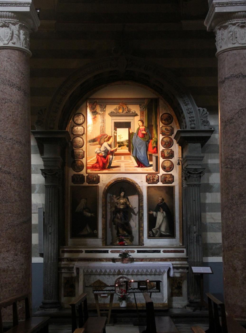Фра Бартоломео. Altar of Madonna Rosario