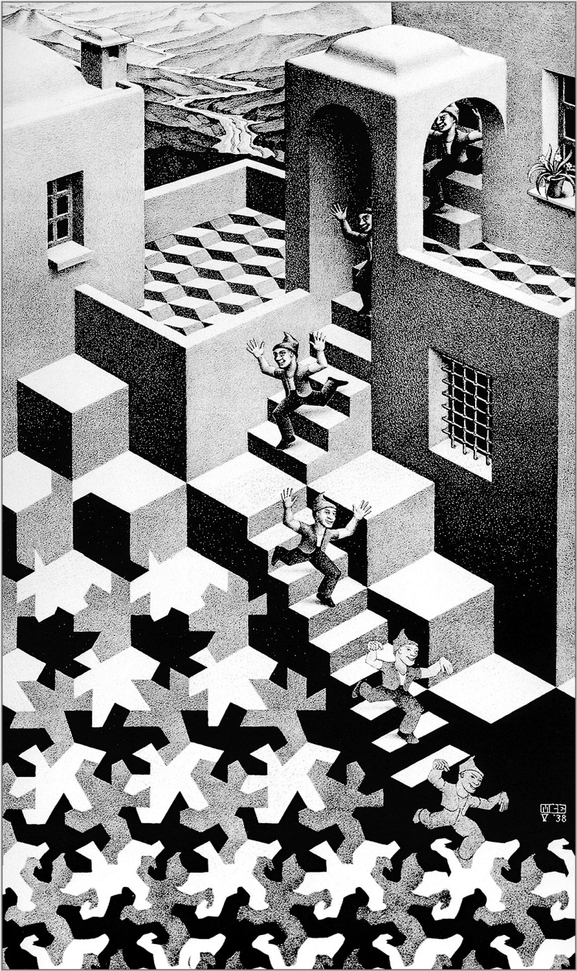 Maurits Cornelis Escher. Cycle