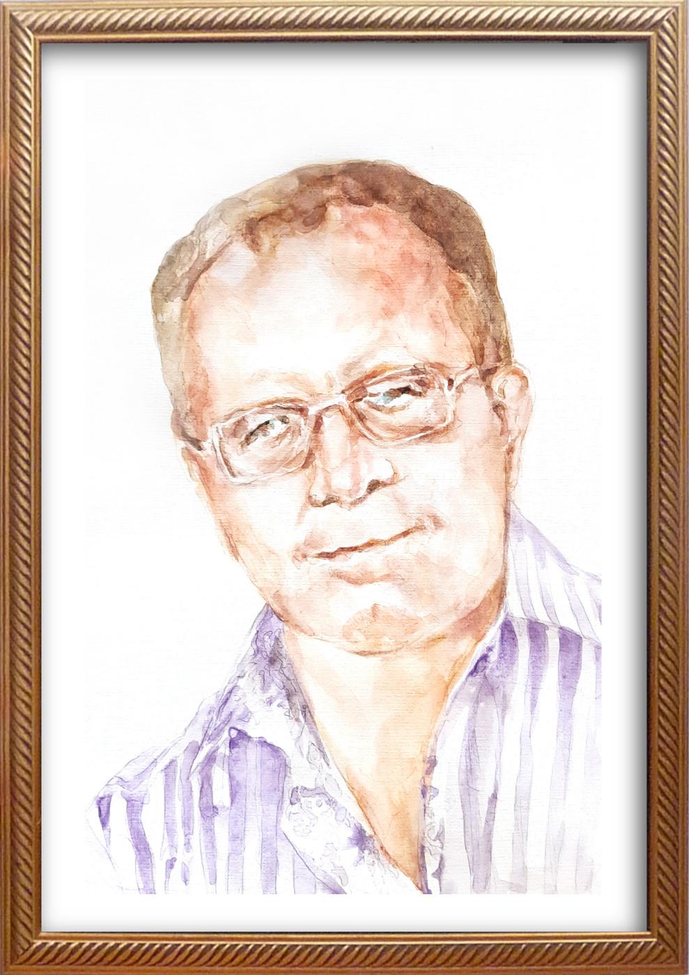 Ivan Alexandrovich Dolgorukov. Custom-made male portrait