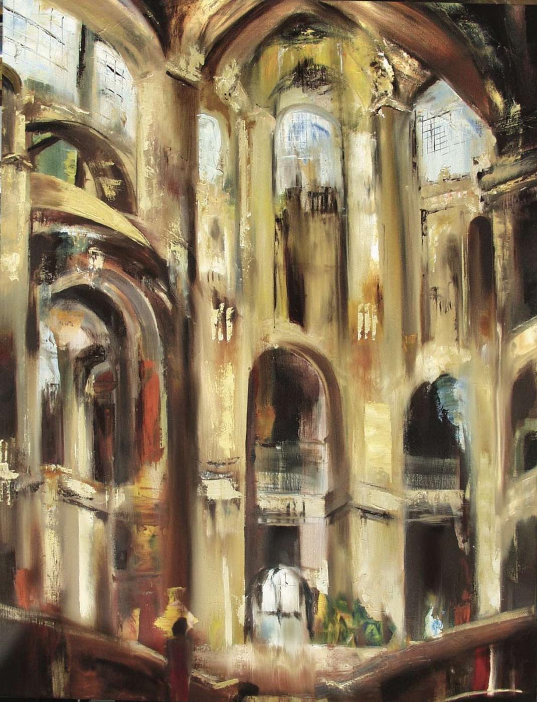 Robert Hettich. Central hall
