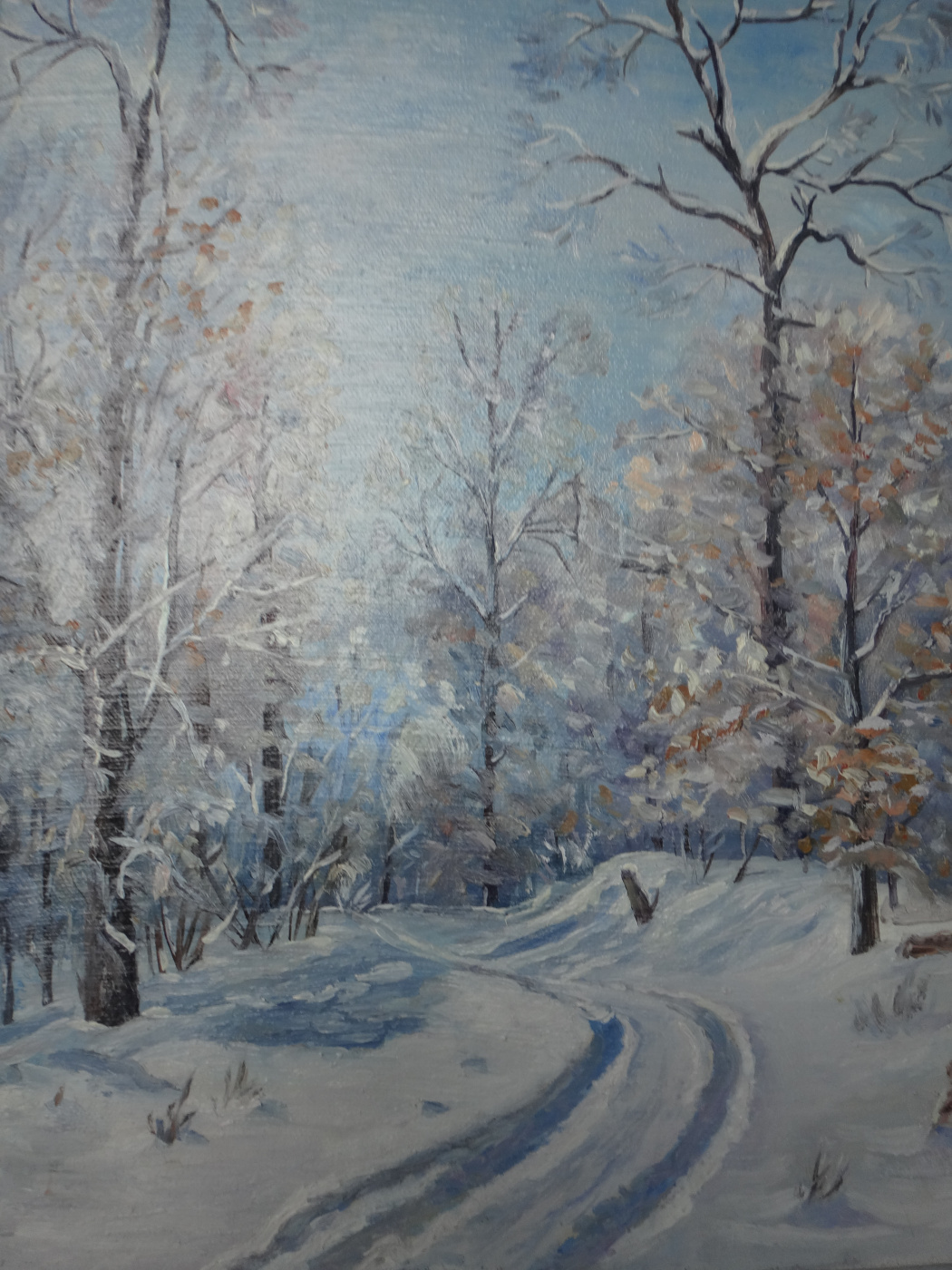Grigory Krepachev. Winter morning