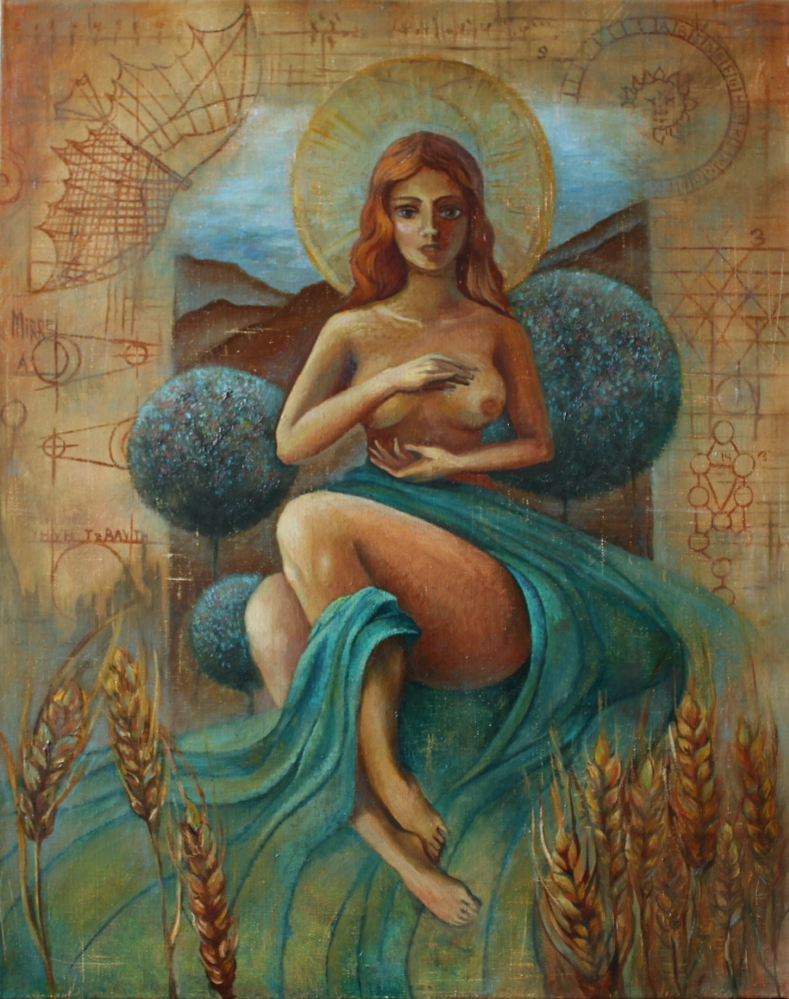 Anastasia Mirra. Terra mater