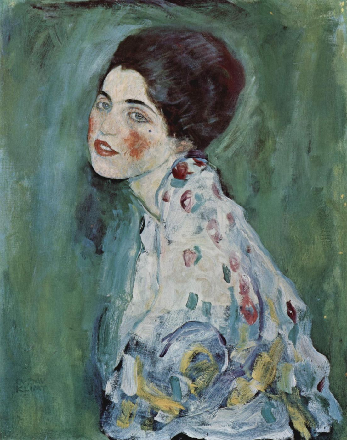 Gustav Klimt. Portrait of a Lady