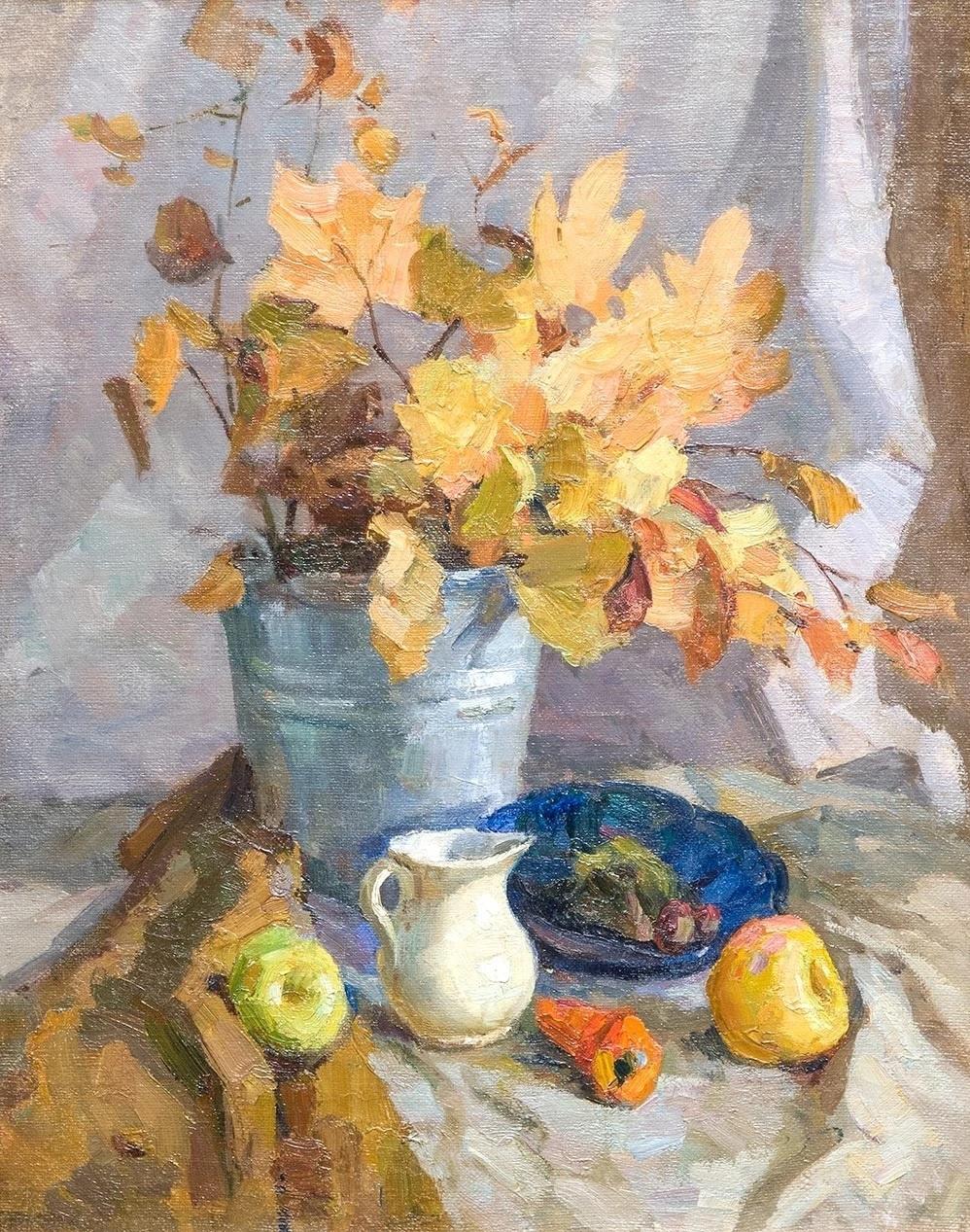 Sergey Vasilyevich Gerasimov. Autumn still life