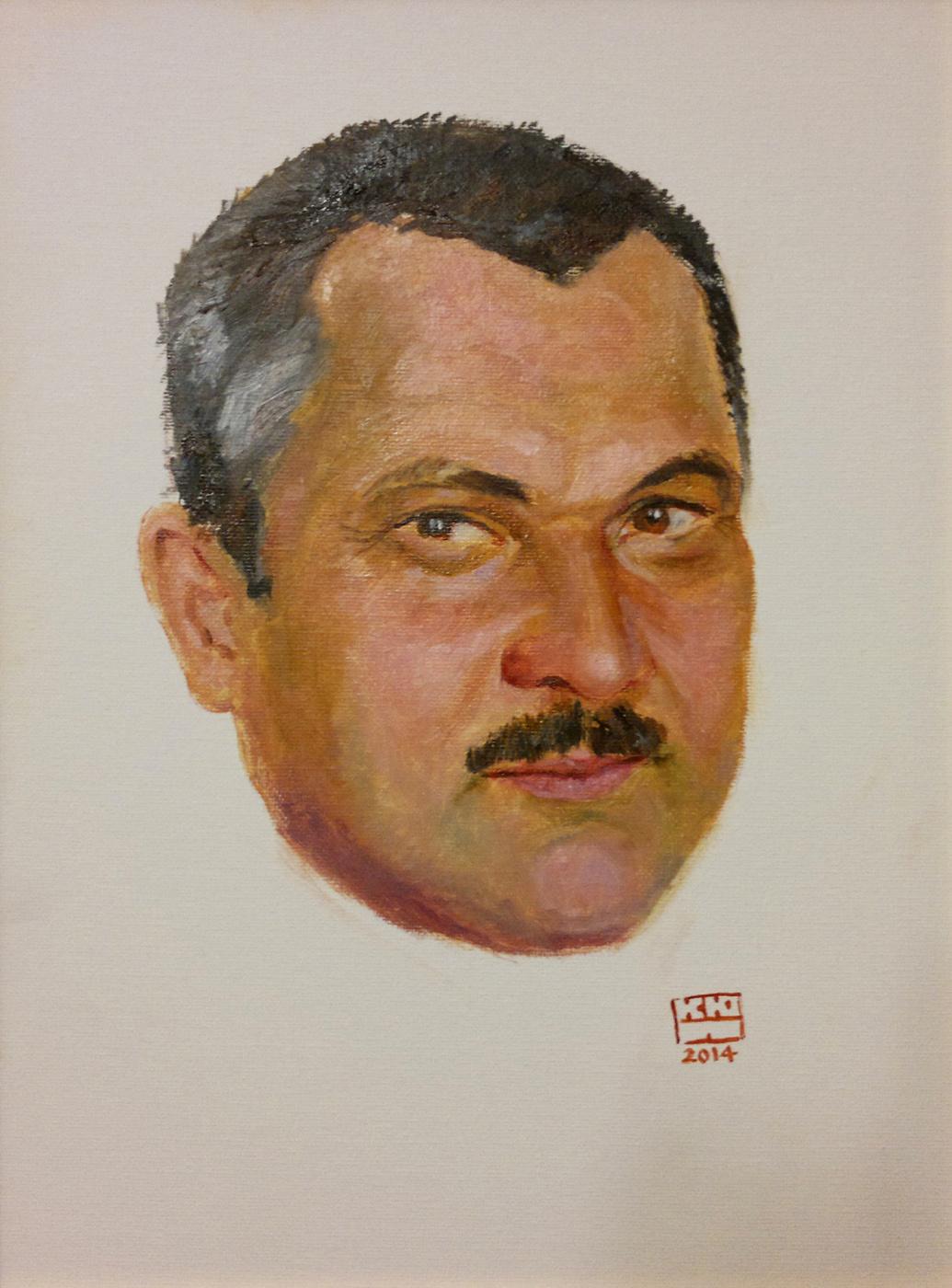 Yuri Petrovich Konnov. Portrait of S. Ramil.