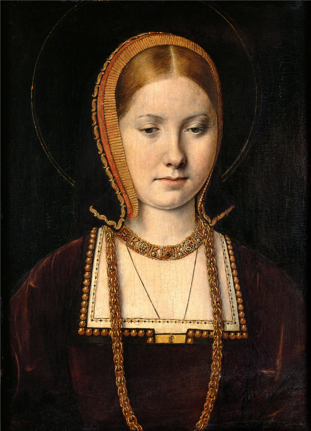 Michel Sittow. Mary Rose Tudor, Sister of Henry VIII of England (?)