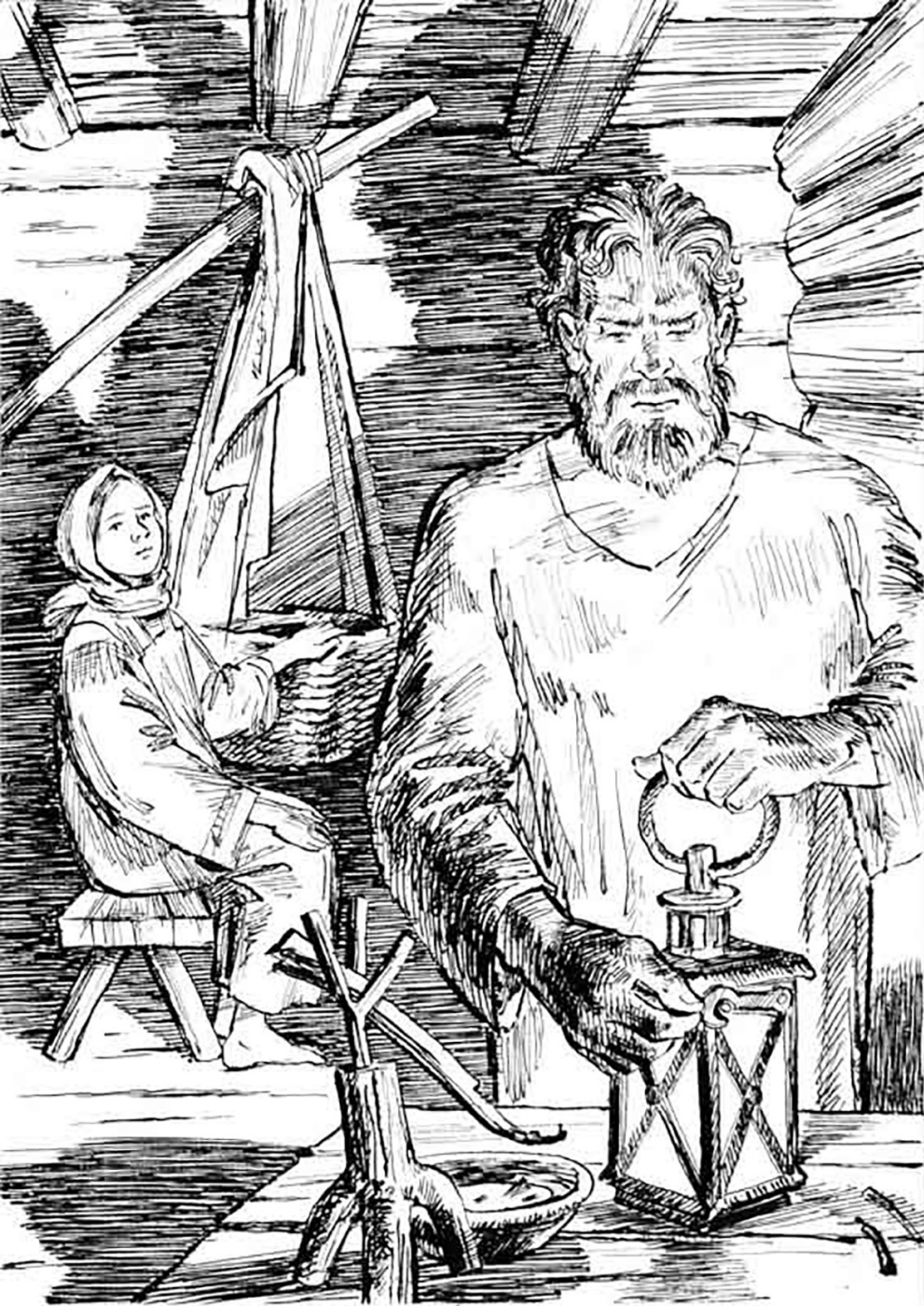 Alexander Vasilievich Kuzmin. Biryuk. I.S. Turgenev.