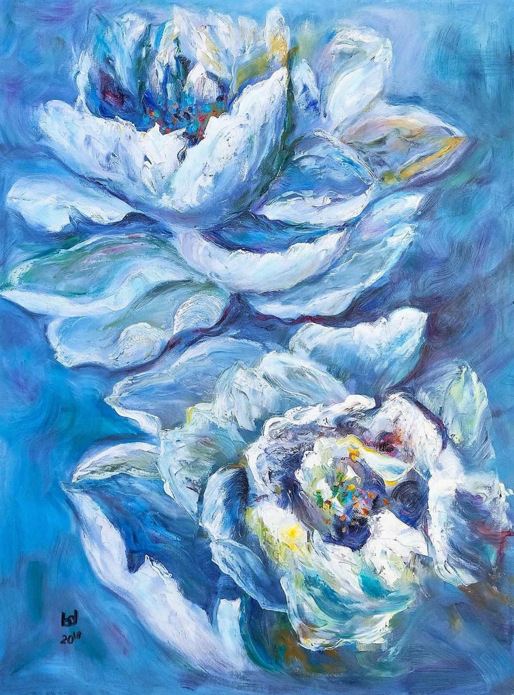 Brian dupre. White Water Lilies