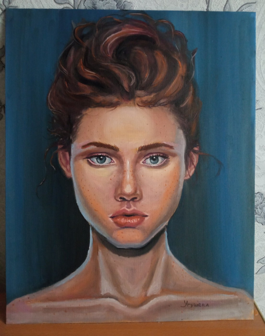 Anna Ugusheva. Portrait of a girl