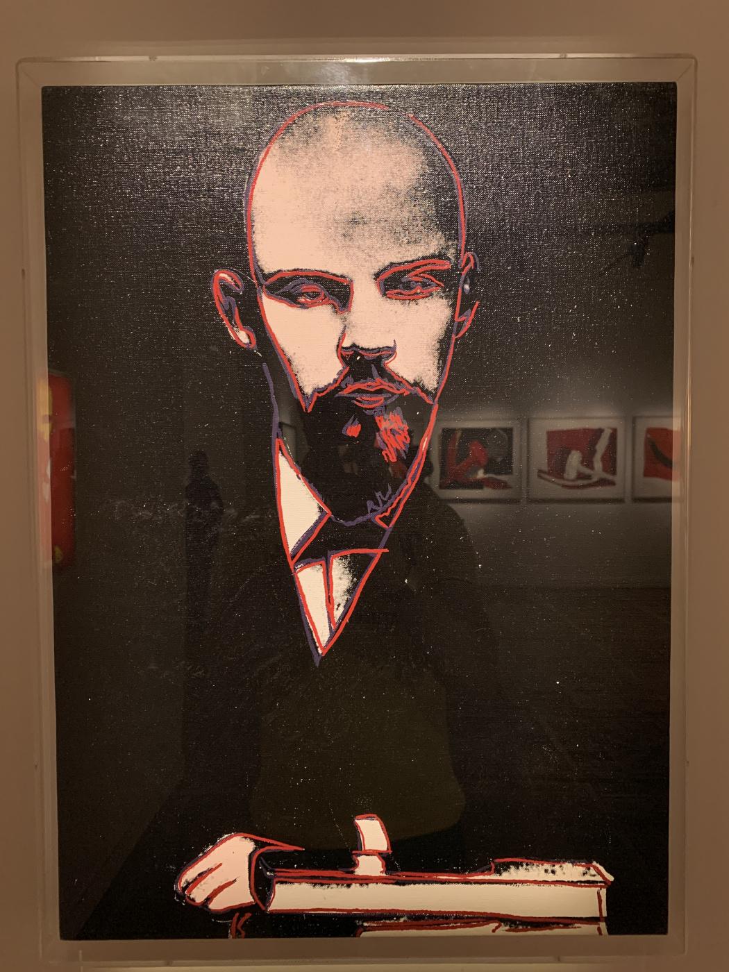 Andy Warho. Lenin