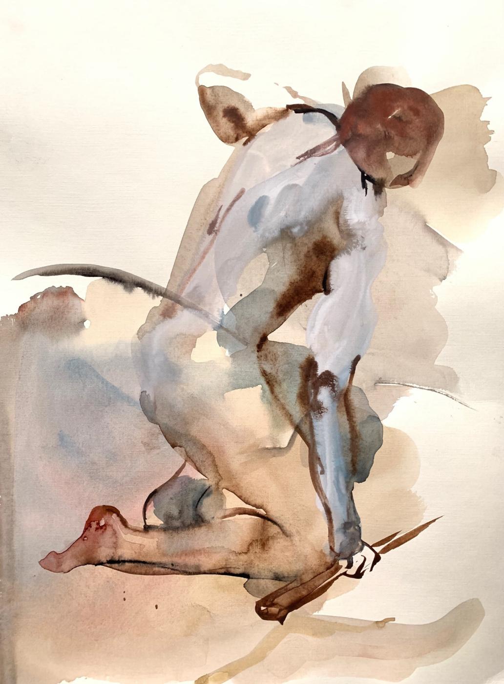 Юлия Неронска. Nude series