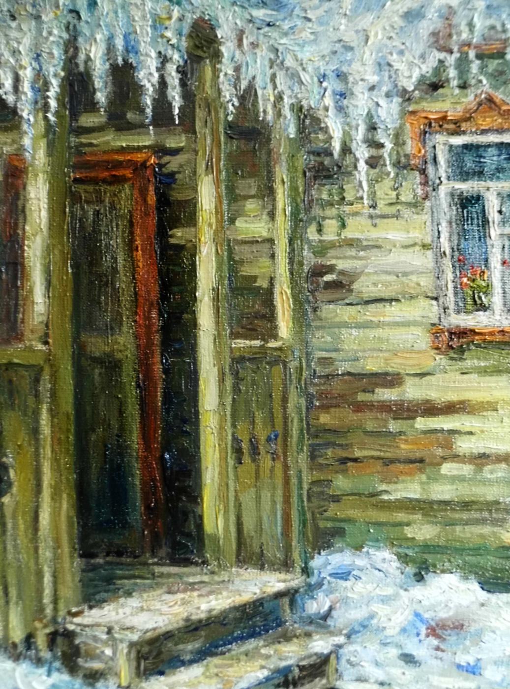 Victor Vladimirovich Kuryanov. Spring ice
