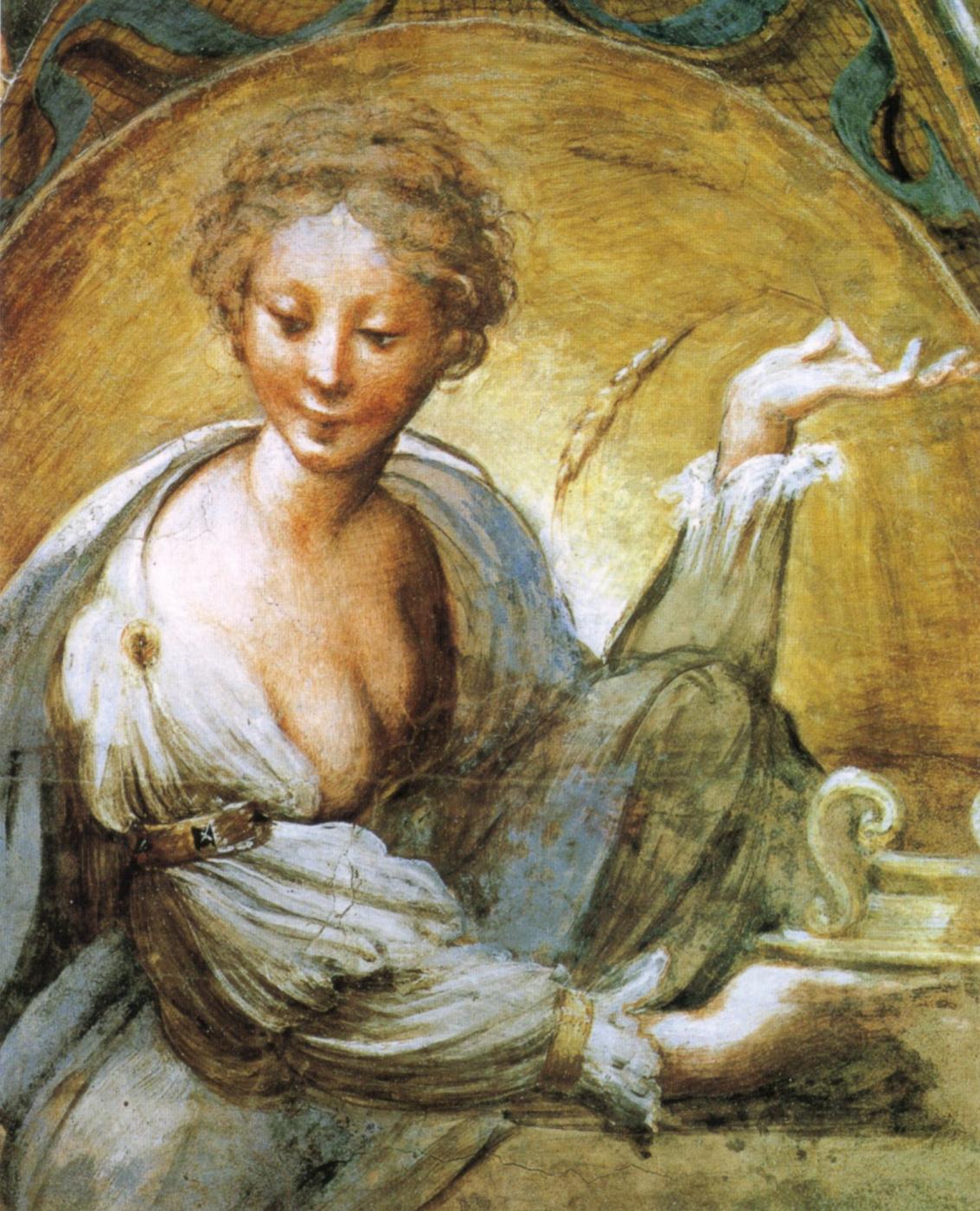 Francesco Parmigianino. The story of Diana and Actaeon. Fragment