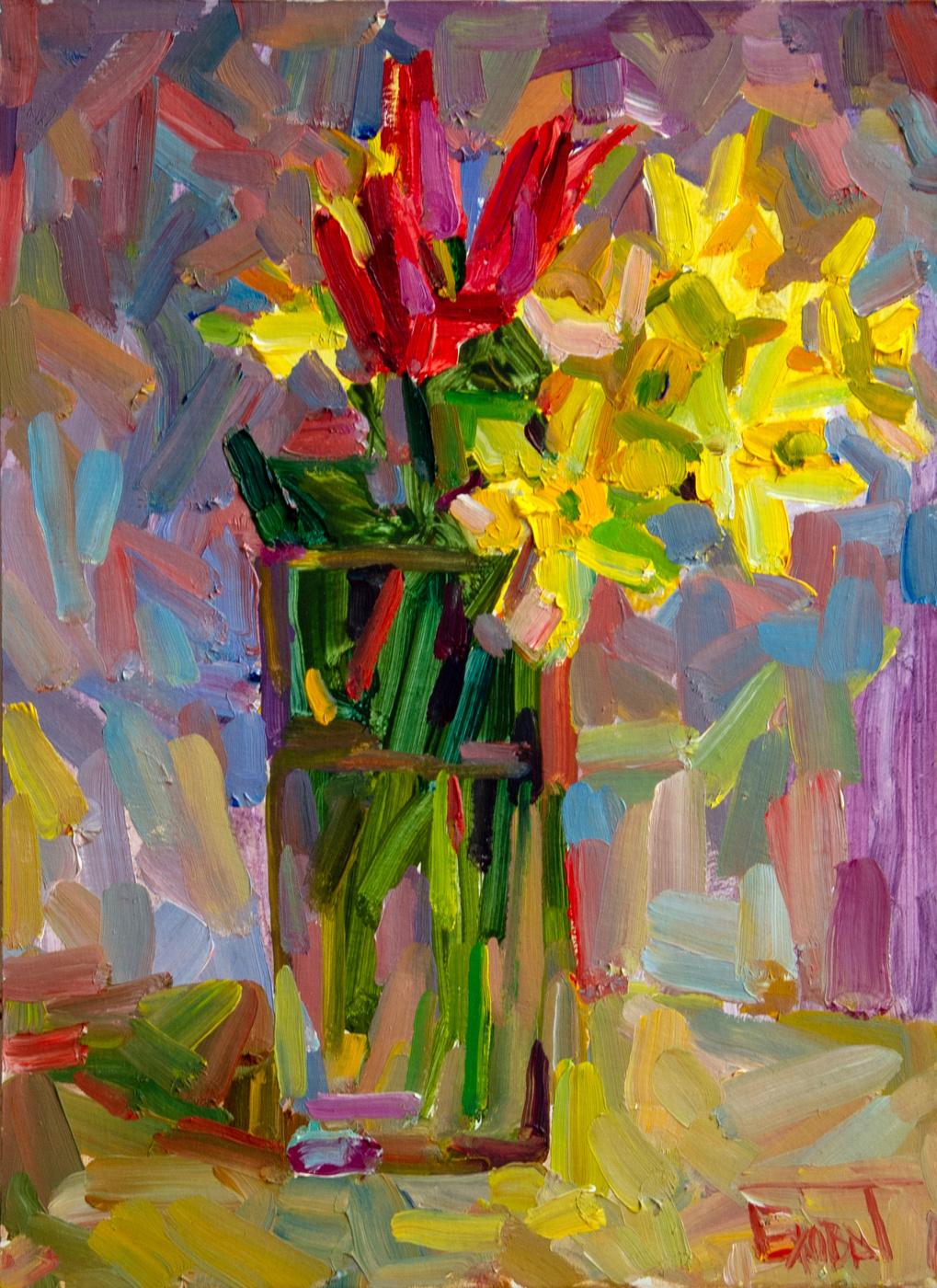 Tanika Yezhova. Colorful spring