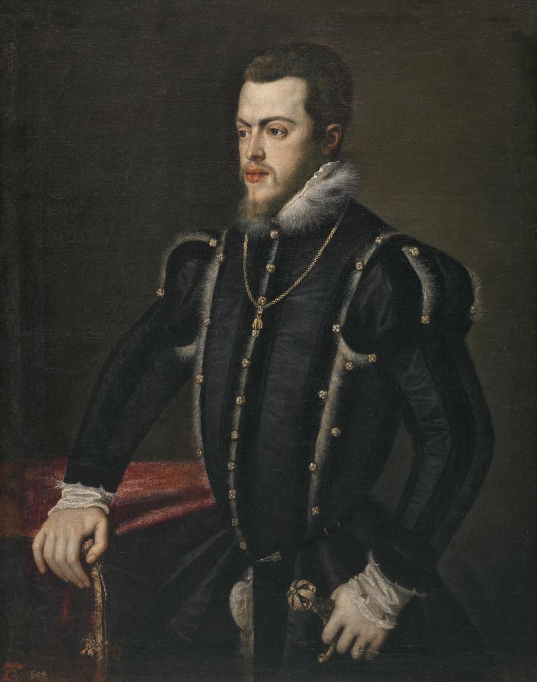Sofonisba Anguissola. King of Spain Philip II