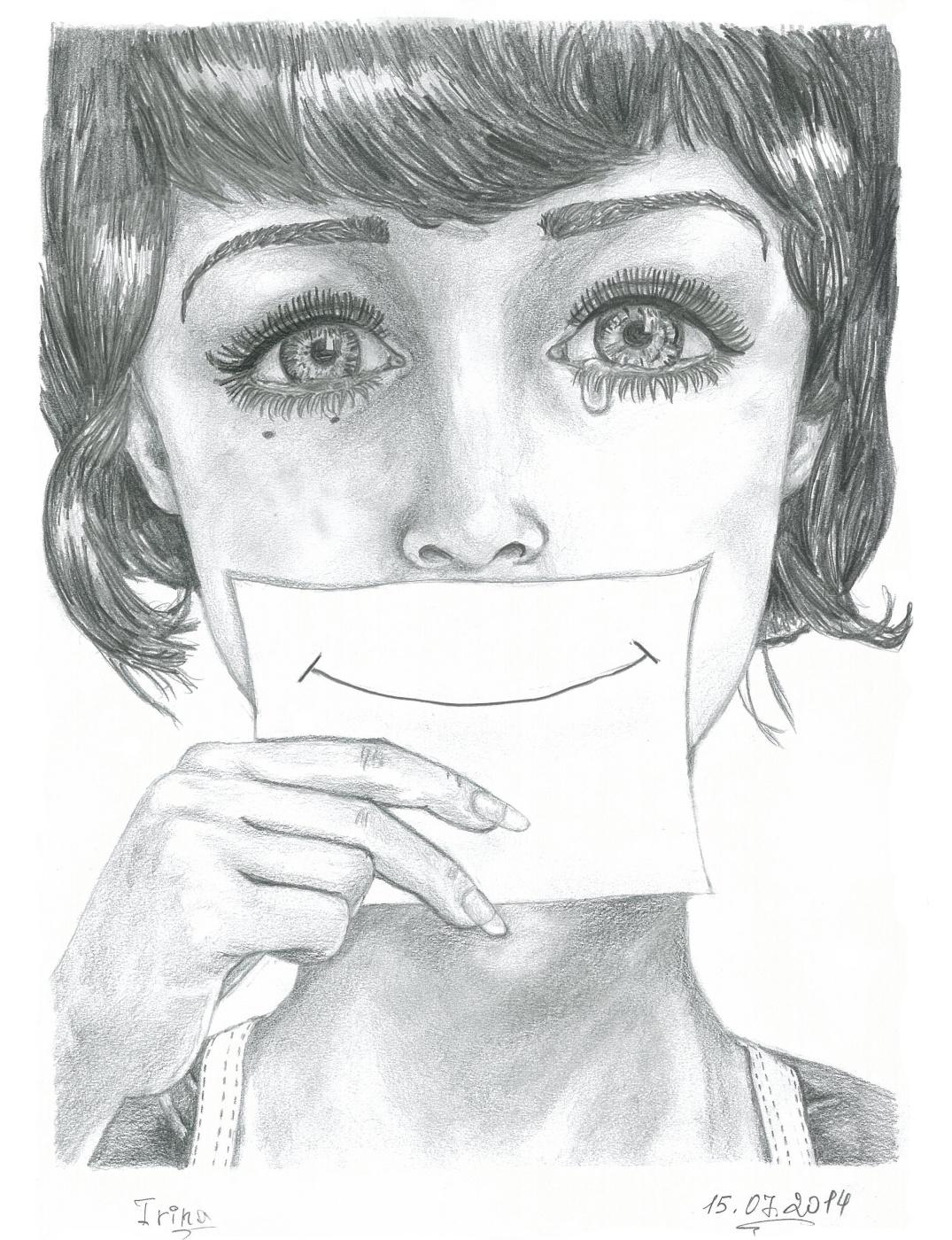 "Ирина Владимировна Хазэ. Фантазийный портрет ""Smile"""