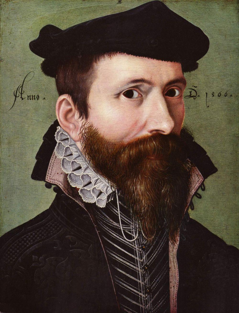 Ludger tom Ring Junior. Portrait of a man