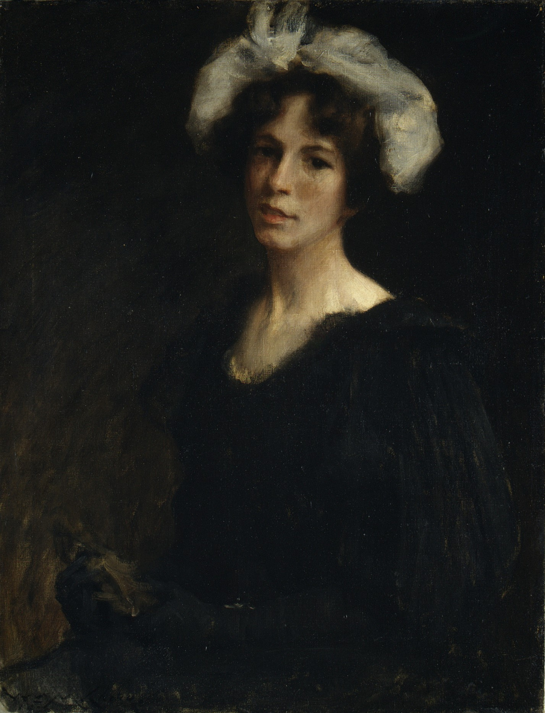 William Merritt Chase. Bessie Potter