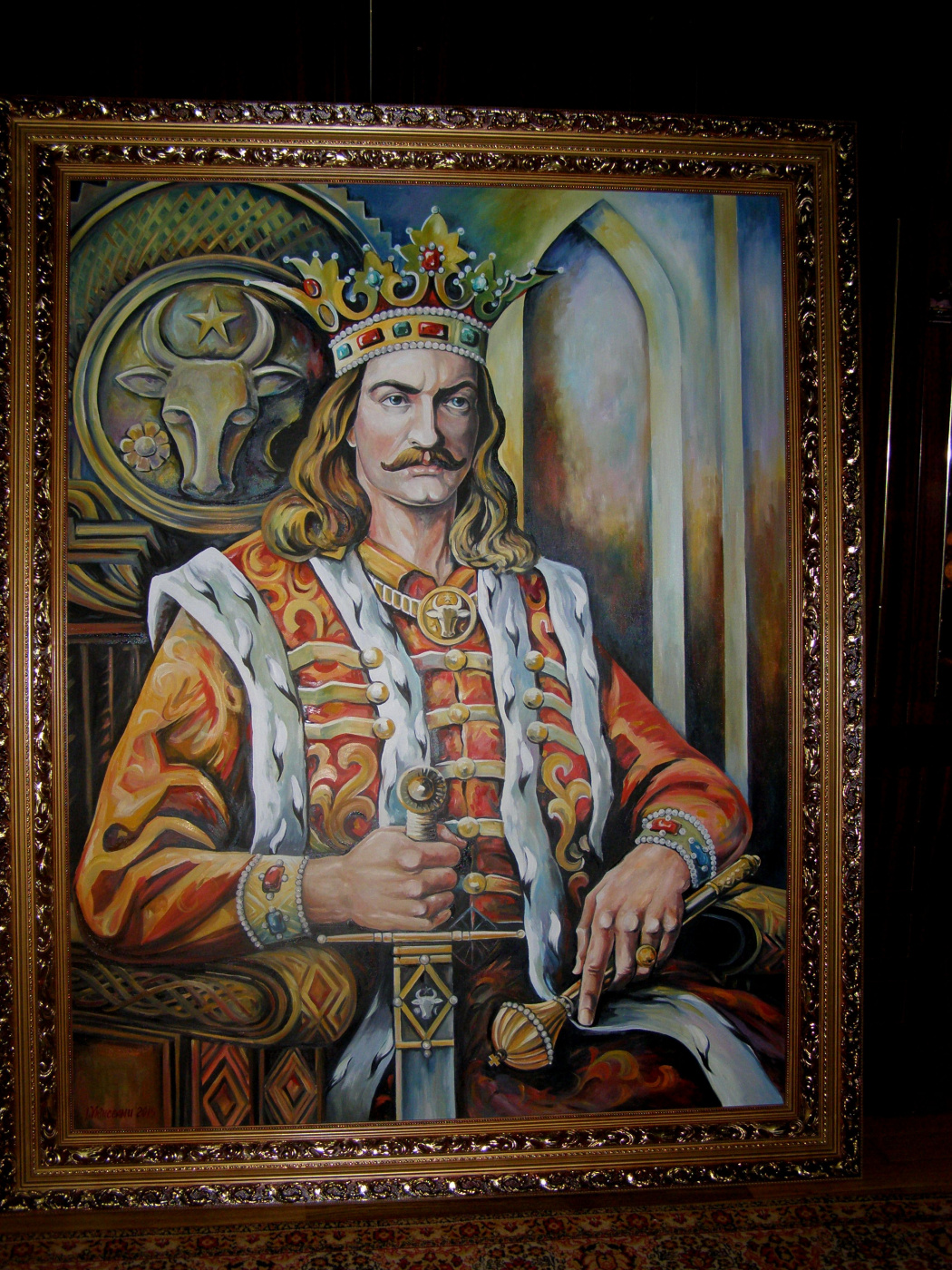 портрет государя Степана Великого