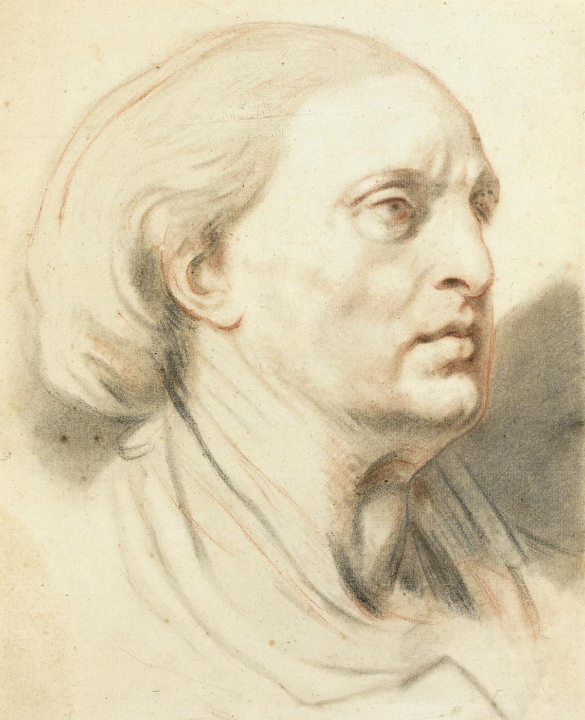 Jean-Baptiste Greuze. Portrait of a Man