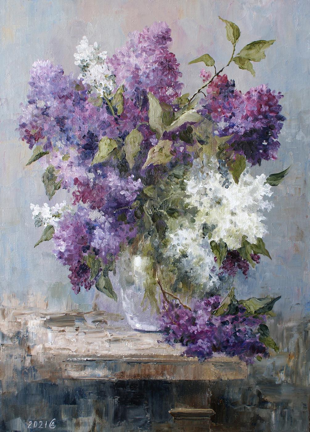 Сергей Владимирович Дорофеев. Etude with lilac