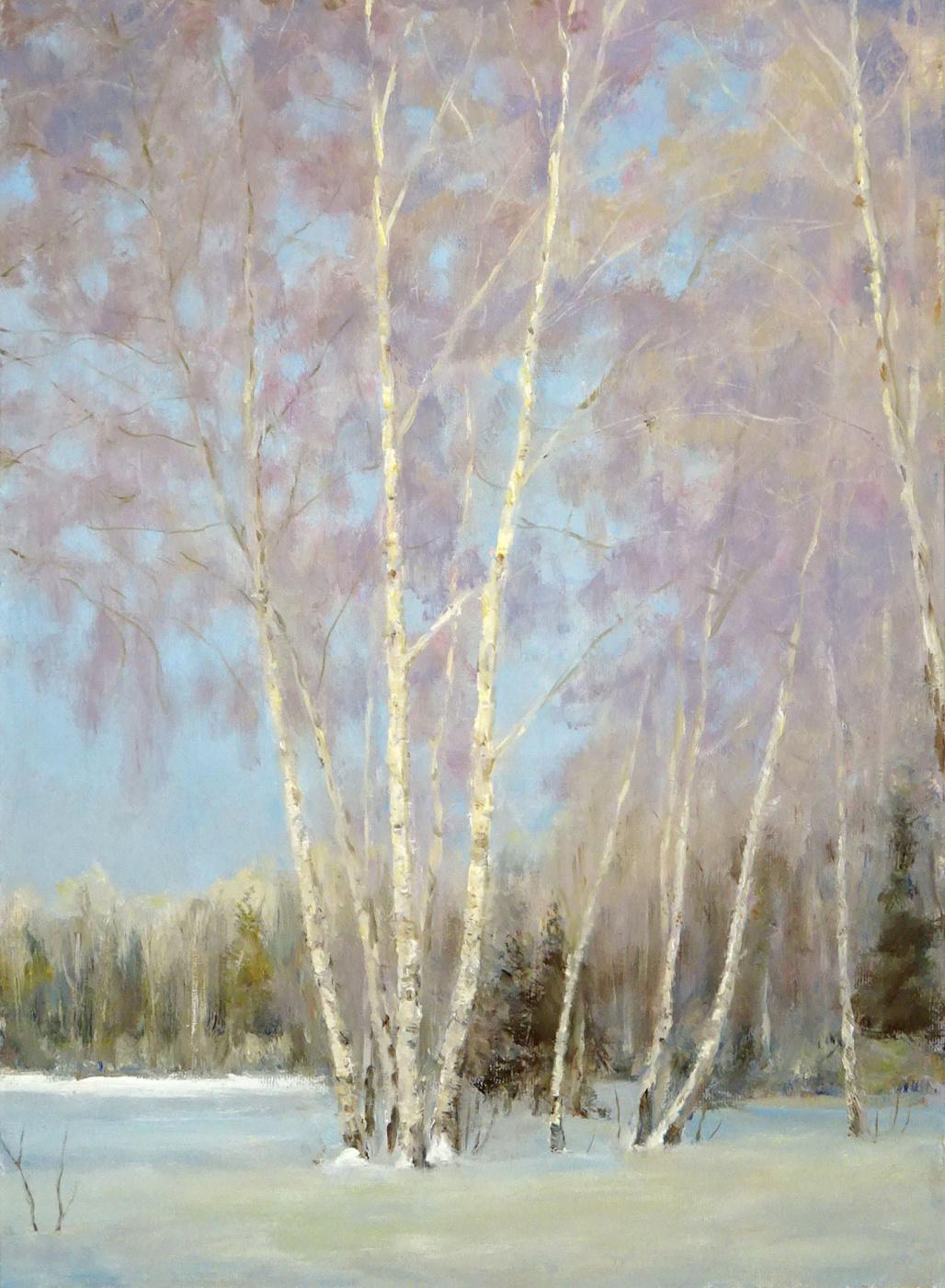 Igor Lemekhov. Birches