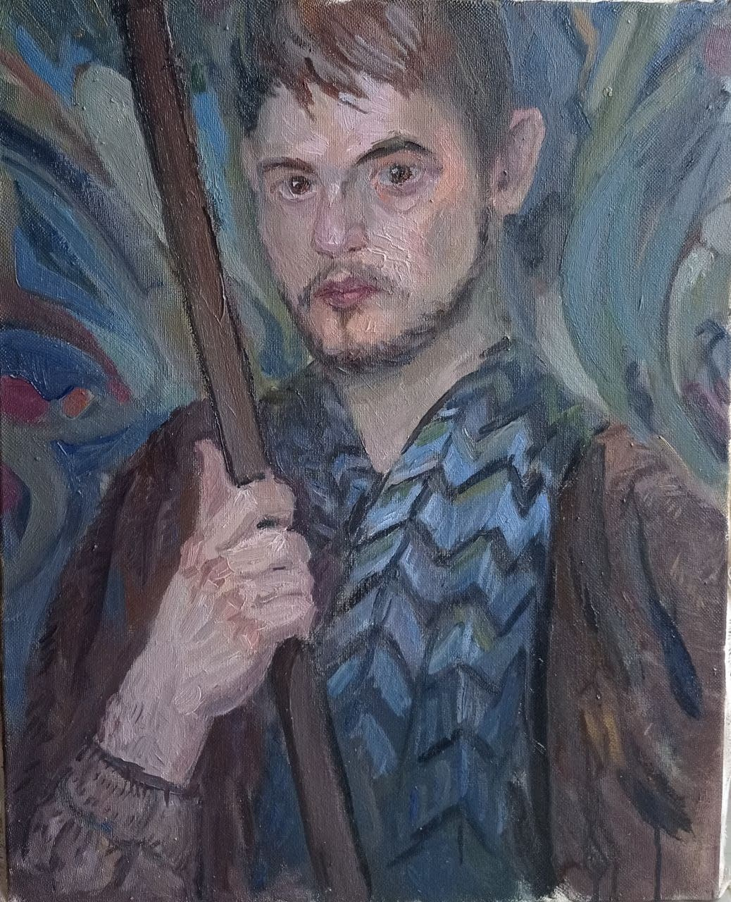 Andrey Titovskoy. Self-portrait