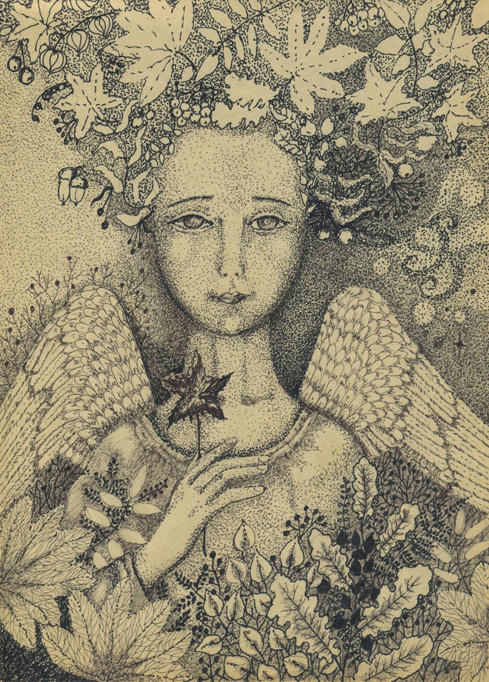 Olyona Ivanovna Koneva. Autumn angel
